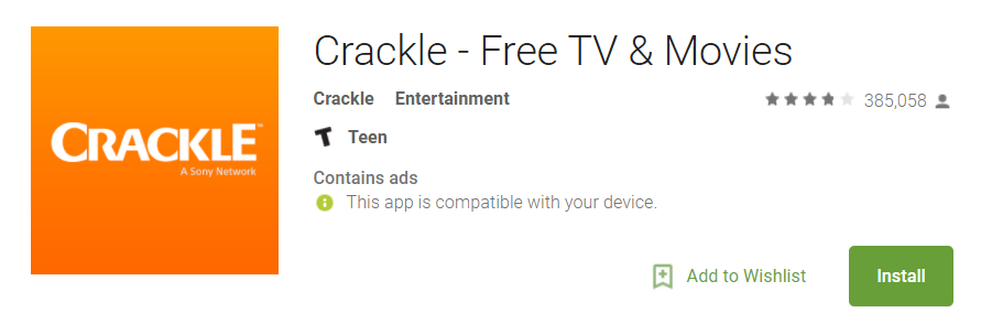 Crackle Android Tv - Android TV Apps
